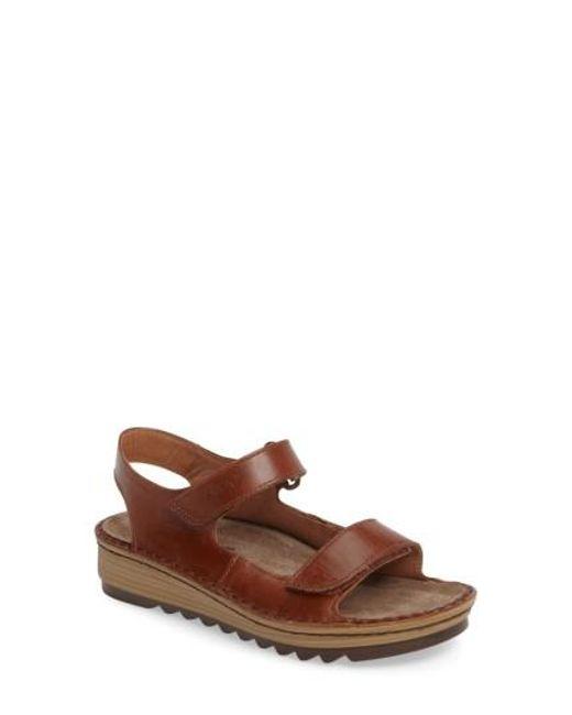 Naot | Brown Zinnia Sandal | Lyst