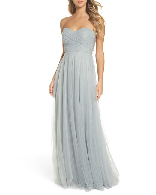 Jenny Yoo - Multicolor Julia Convertible Soft Tulle Gown - Lyst