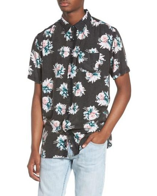 Imperial Motion - Black Vacay Woven Shirt for Men - Lyst