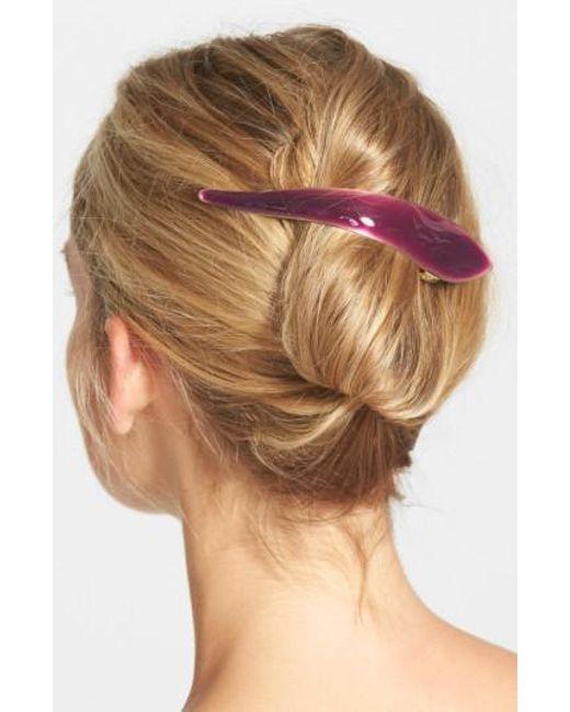 Ficcare - Purple 'maximus Silky' Hair Clip - Lyst