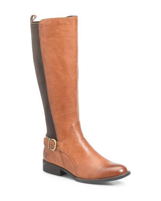 Børn | Brown B?rn Campbell Knee High Elastic Back Boot | Lyst
