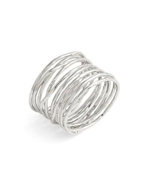 Gorjana | Metallic 'lola' Coil Ring | Lyst