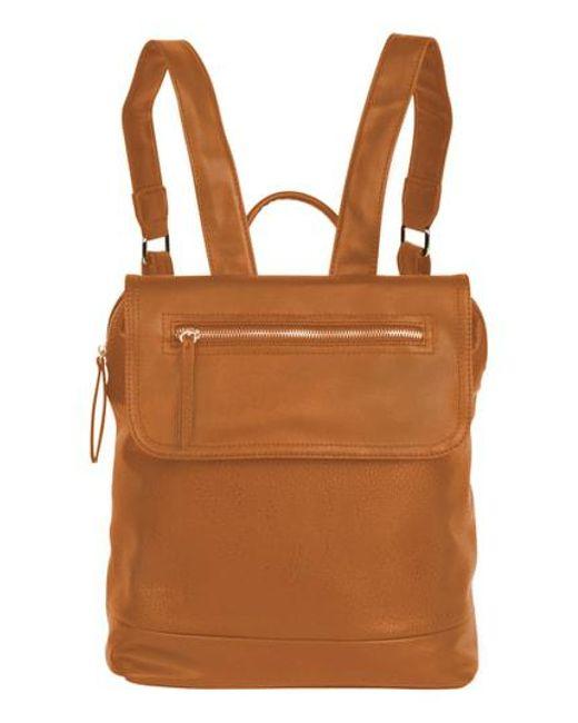 Urban Originals - Brown Lovesome Vegan Leather Backpack - Lyst