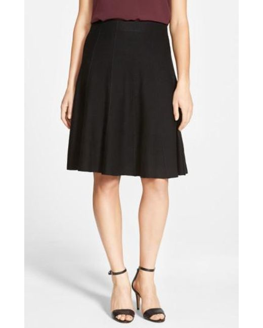 NIC+ZOE | Black Panel Twirl Skirt | Lyst