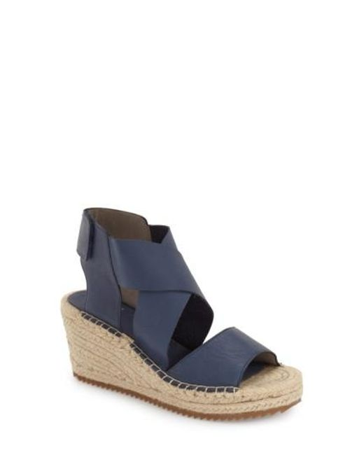 sneakernews sale online Eileen Fisher Leather Espadrille Sandals w/ Tags outlet Inexpensive new arrival cheap price low price fee shipping clearance ebay fvoK5