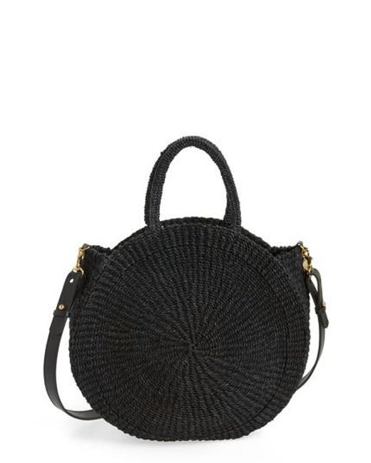 Clare V. - Pink Alice Woven Sisal Straw Bag - - Lyst