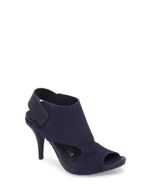 Pedro Garcia - Blue Yimina Cutout Sandal - Lyst