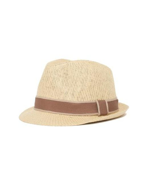 5ee9cf60ad7 Lyst - Goorin Bros Goorin Killian Fedora - in Natural for Men