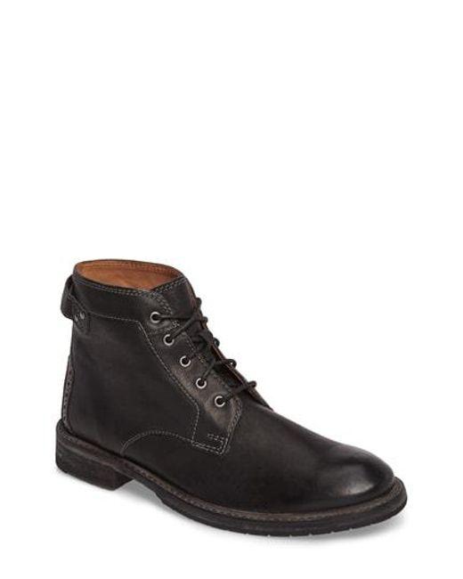 Clarks - Black Clarks Clarkdale Bud Plain Toe Boot for Men - Lyst