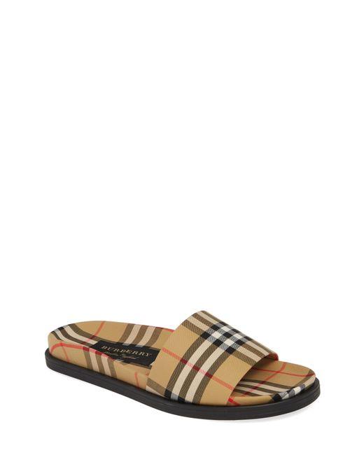 27fc64f523860b Burberry - Multicolor Ashmore Slide Sandal for Men - Lyst