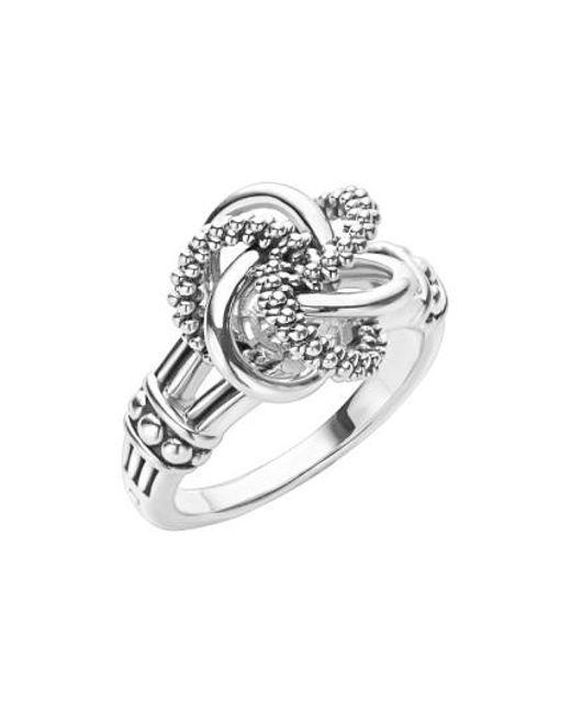 Lagos | Metallic 'love Knot' Ring | Lyst