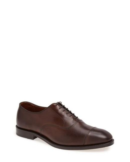 Allen Edmonds | Brown Park Avenue Oxford for Men | Lyst