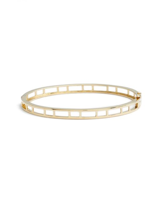 Bony Levy Metallic 14k Caged Bangle (nordstrom Exclusive)