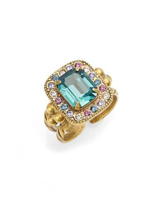 Sorrelli | Metallic Opulent Octagon Cocktail Ring | Lyst