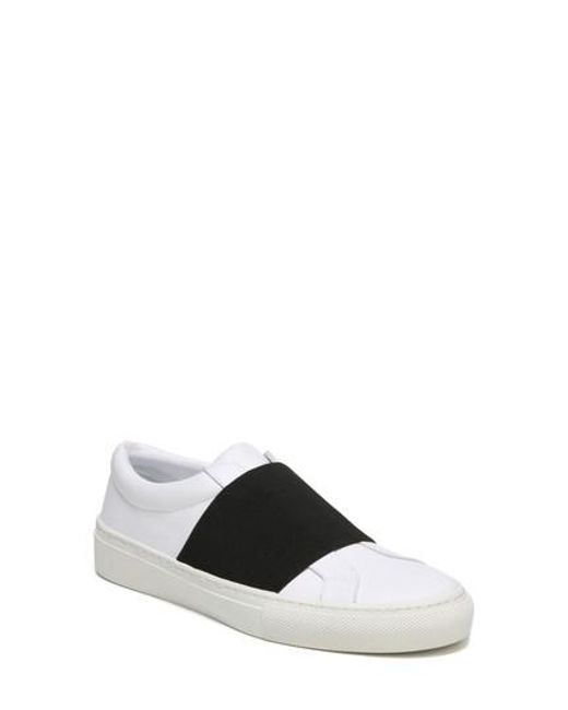 Via Spiga - Black Saran Slip-on Sneaker - Lyst