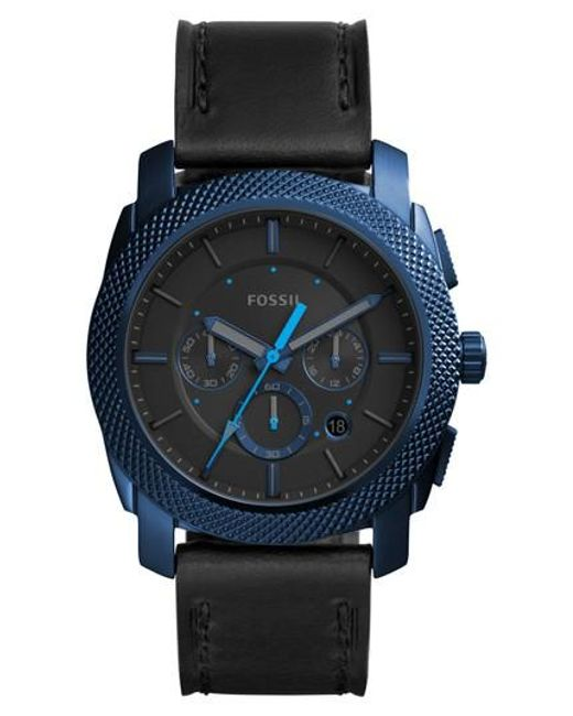 Fossil | Black Machine Chronograph Bracelet Watch for Men | Lyst