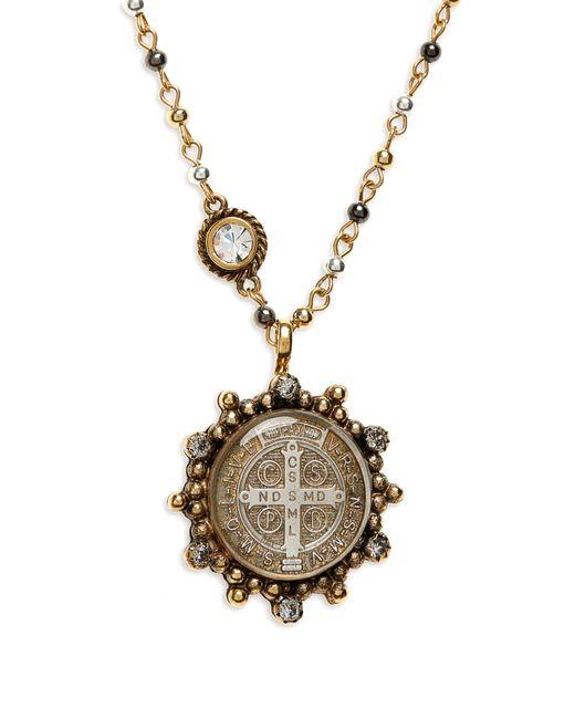 Virgins, Saints & Angels - Metallic San Benito Magdalena Necklace - Lyst