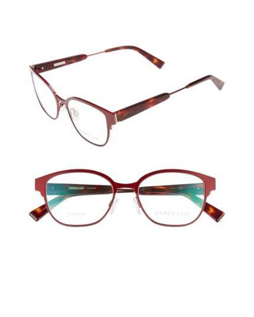 Derek Lam | Brown 52mm Optical Glasses - Ruby | Lyst