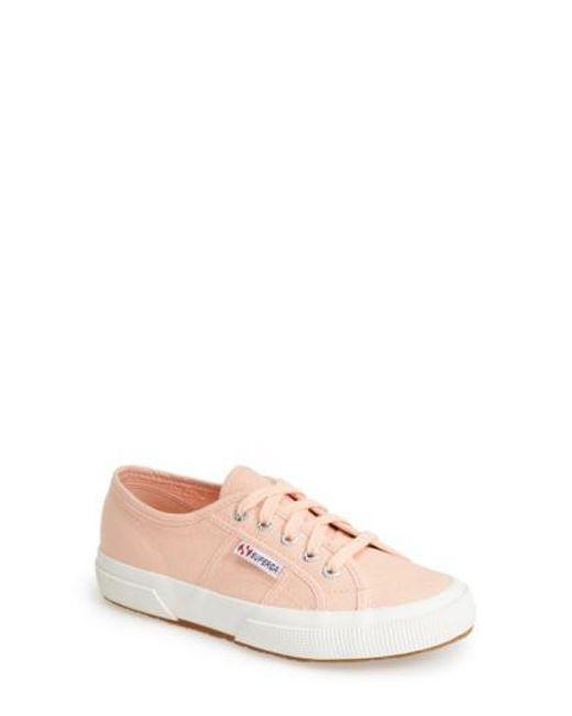 Superga | Pink 'cotu' Sneaker | Lyst