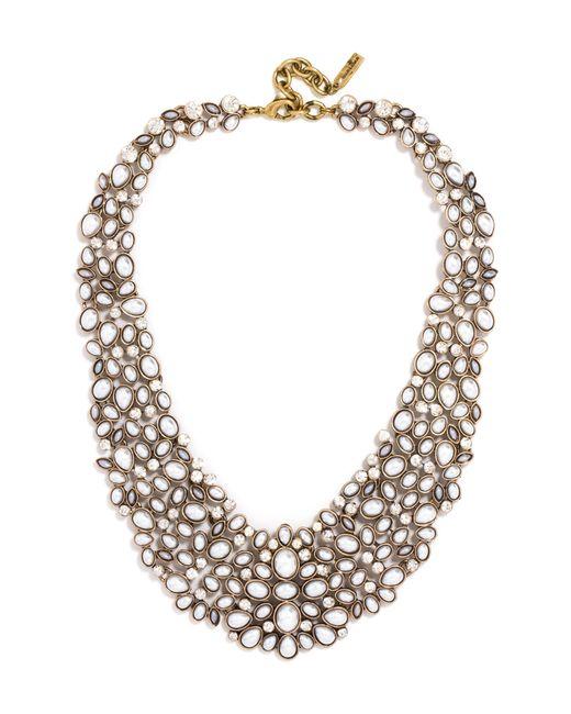 BaubleBar - Multicolor 'kew' Crystal Collar Necklace - Lyst