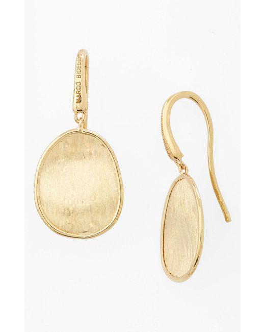 Marco Bicego - Yellow 'lunaria' Drop Earrings - Lyst