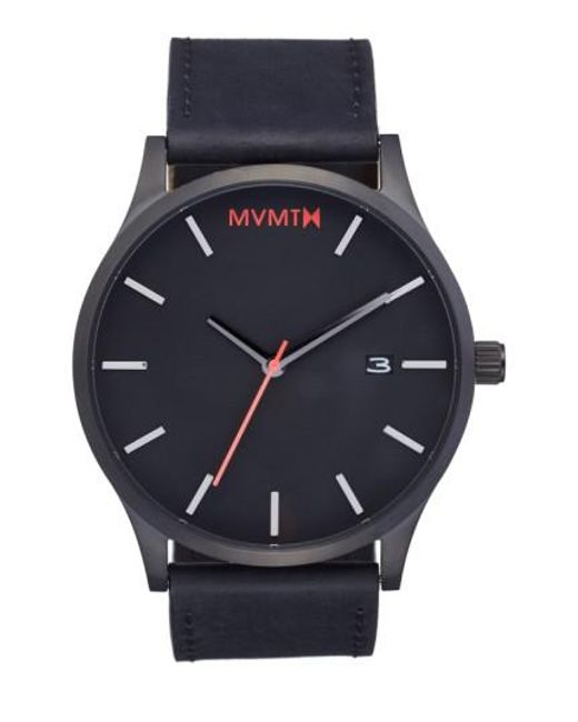 MVMT | Black Leather Strap Watch for Men | Lyst