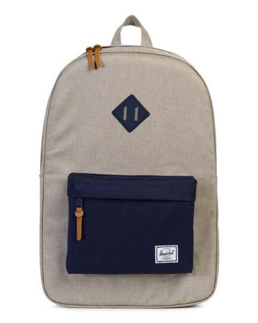 Herschel Supply Co. | Blue Heritage Backpack | Lyst