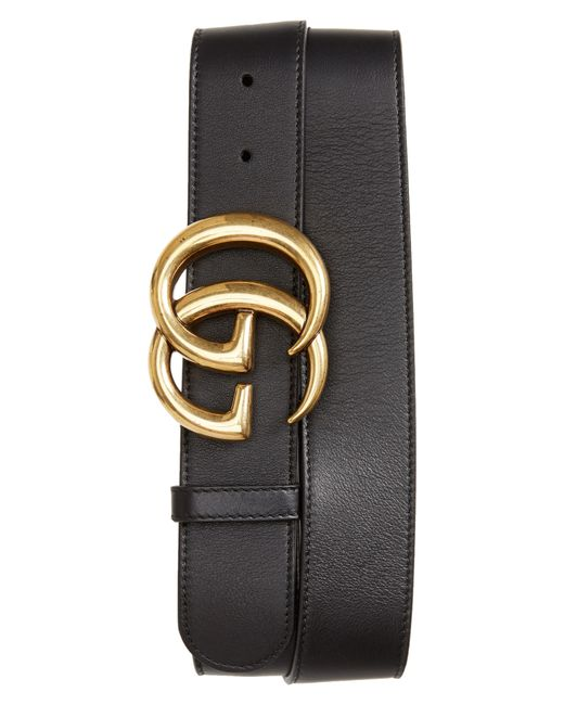 Gucci Brown Gg Leather Belt for men