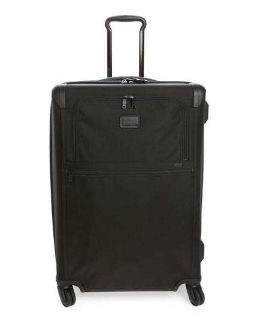 Tumi | Black 'alpha 2' Medium Trip Expandable Four-wheel Packing Case for Men | Lyst