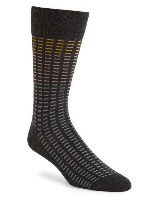 CALVIN KLEIN 205W39NYC - Gray Tile Socks - Lyst
