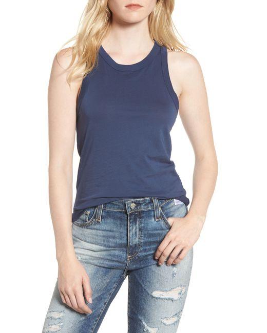 AG Jeans - Blue Lexi Tank - Lyst