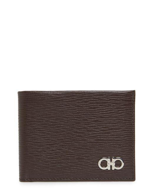 Ferragamo - Brown Revival 6cc Leather Billfold for Men - Lyst