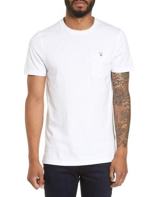 Ted Baker | White Bothy Modern Slim Fit T-shirt for Men | Lyst