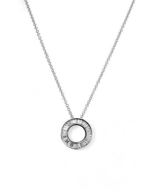 Bony Levy Metallic Circle Of Life Small Diamond Pendant Necklace (nordstrom Exclusive)
