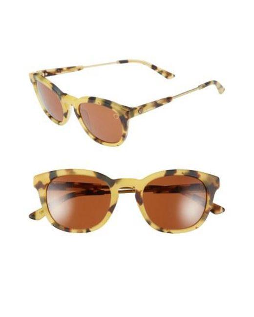 Electric - Brown 'txoko' 50mm Sunglasses - - Lyst