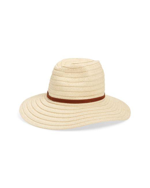 BP. Natural Straw Floppy Hat