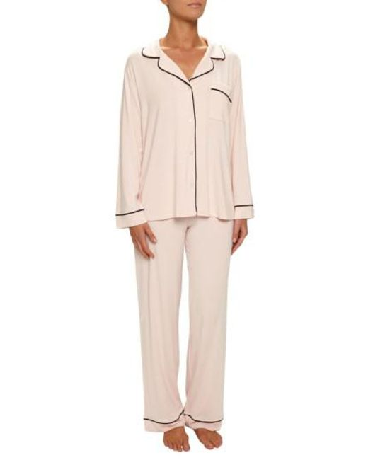 Eberjey - Natural 'giselle' Pajamas - Lyst