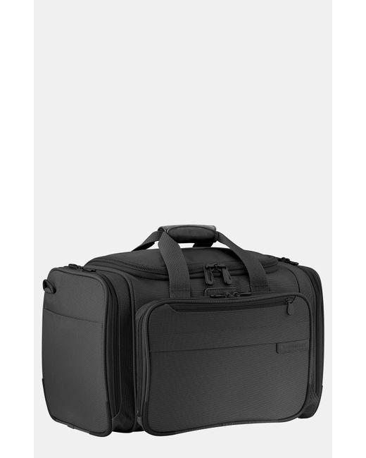Briggs & Riley Black Cabin 17-inch Duffle Bag