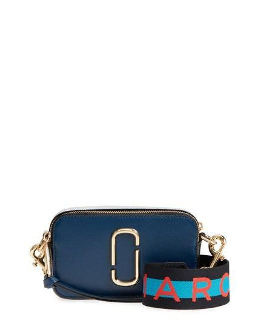 Marc Jacobs - Blue Snapshot Crossbody Bag - Lyst