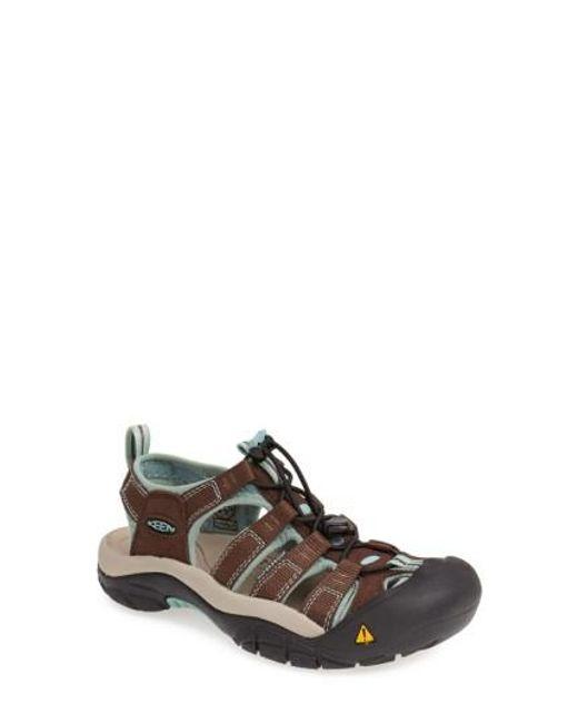 Keen | Brown 'newport H2' Sandal | Lyst
