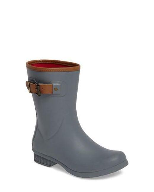 Chooka   Brown City Solid Mid Height Rain Boot   Lyst