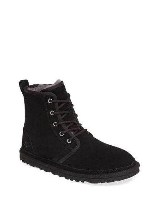 Ugg - Black Ugg Harkley Lace-up Boot for Men - Lyst