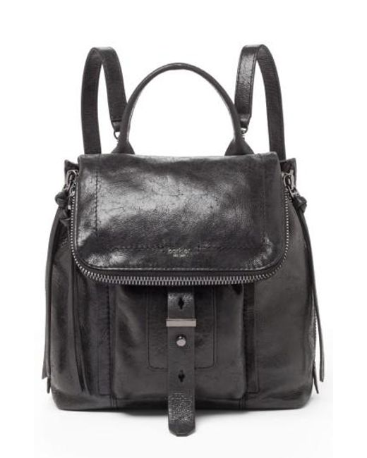 Botkier - Black Warren Leather Backpack - Lyst