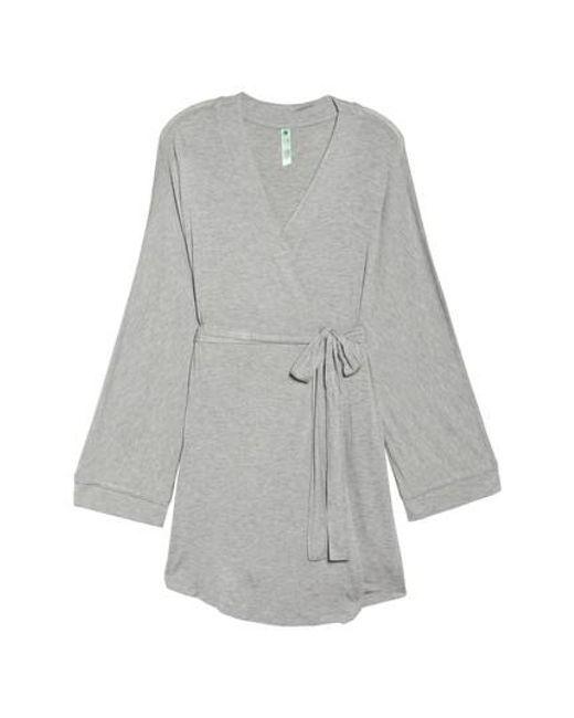 Honeydew Intimates   Gray Jersey Robe   Lyst