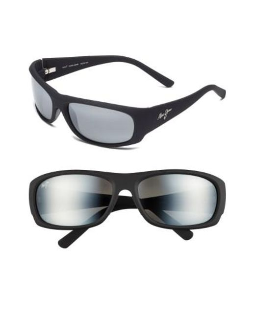 Maui Jim   Black 'ikaika - Polarizedplus2' 64mm Sunglasses for Men   Lyst