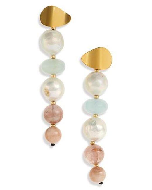 Lizzie Fortunato Pastel Column Earrings W7r5Bm