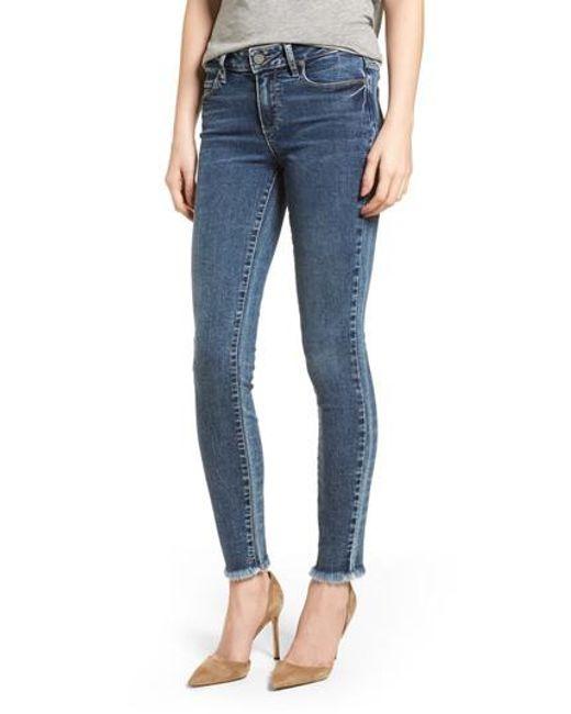 PAIGE - Blue Transcend Vintage - Verdugo Ultra Skinny Jeans - Lyst