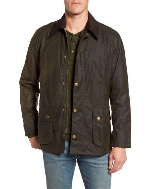 Barbour | Green 'ashby' Regular Fit Waterproof Jacket for Men | Lyst