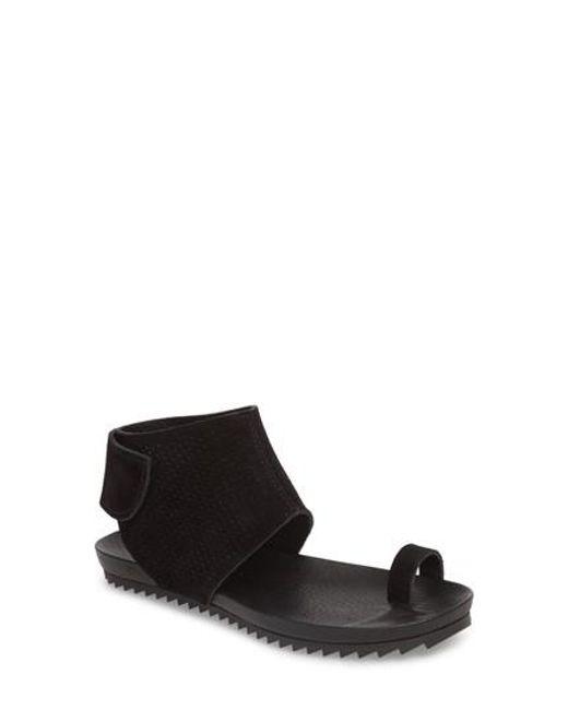 Pedro Garcia - Black Verena Ankle Cuff Sandal - Lyst