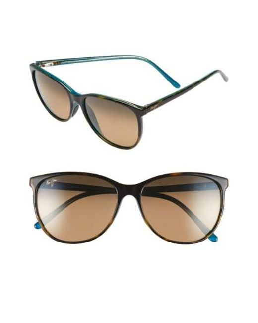 Maui Jim | Brown Ocean 57mm Polarizedplus2 Sunglasses | Lyst